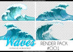 +RENDER PACK//WAVES OO1