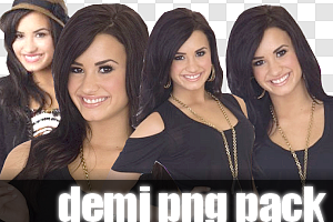 Demi Lovato PNG Pack by itsalrightgp