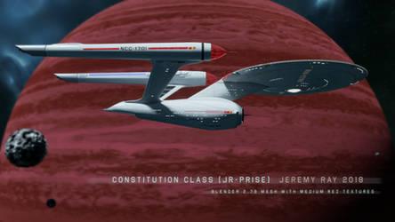 JR-Prise 3D Model by JRXTIN
