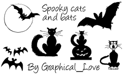 PS7 Spooky brushes n imagepack by lisaedson