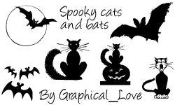PS7 Spooky brushes n imagepack