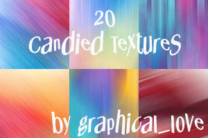 20 Candied Textures by lisaedson