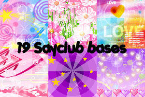 Icon Bases - Sayclub by lisaedson