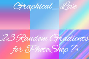 Not really patterns - Gradient by lisaedson