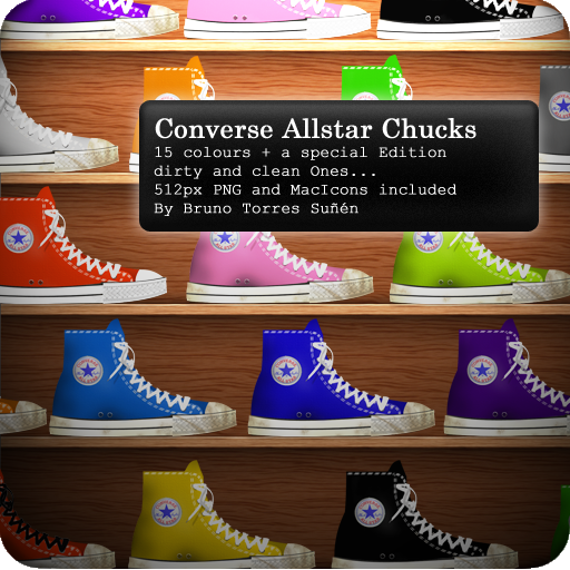 Converse Icons by BrunoTorres