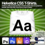 Helvetica CS5 T-Shirts.