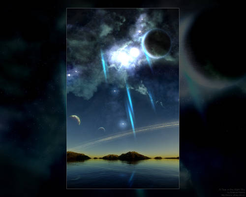 A Tear in the Night Sky