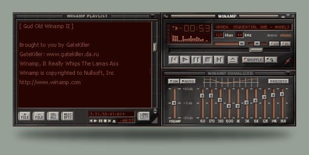 Gud Old Winamp II by gatekiller