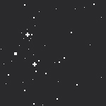 Pixel BG 02 - Starry night sky by raionxdesu