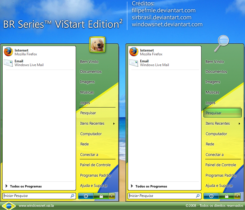 BR Series ViStart Edition 2 by WindowsNET