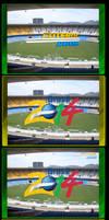 2014 Brazil World Cup walls