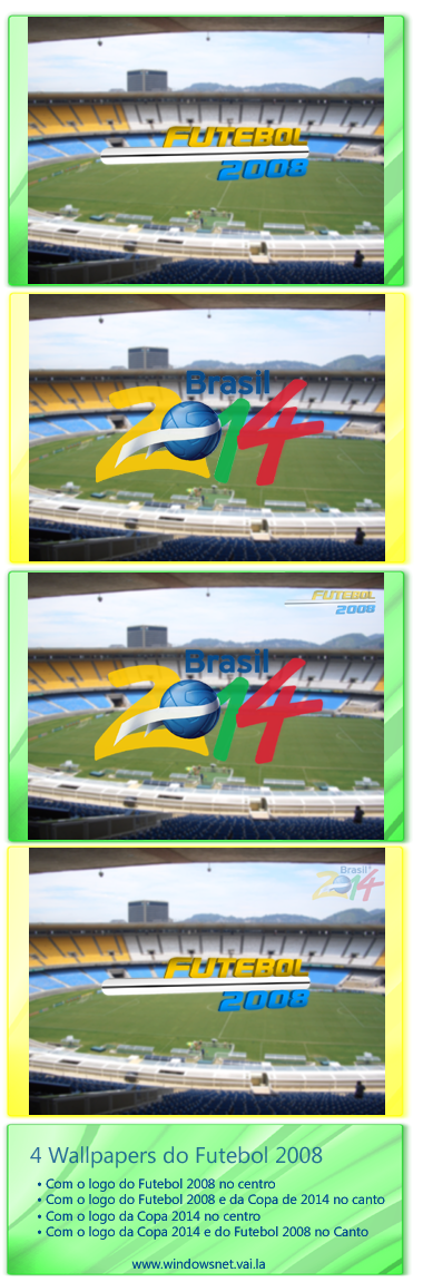 2014 Brazil World Cup walls by WindowsNET