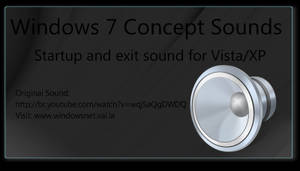 Windows 7 Concept Sounds