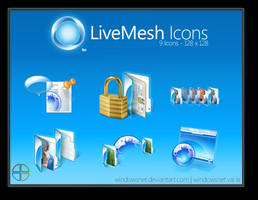 Live Mesh PNGs by WindowsNET