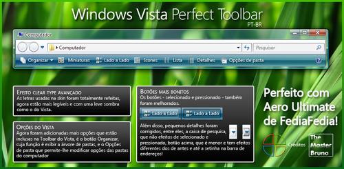 Windows Vista Perfect Toolbar by WindowsNET