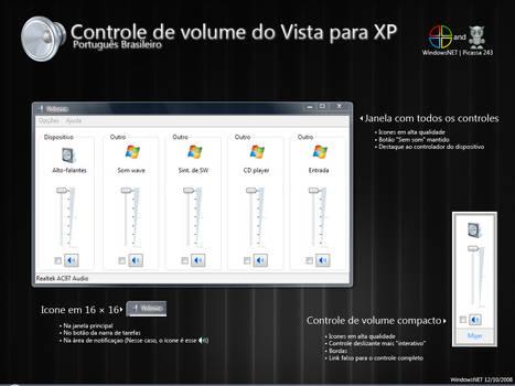 Vista Volume Mod Portuguese