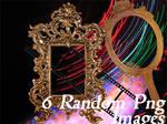 6 Random Png Images.