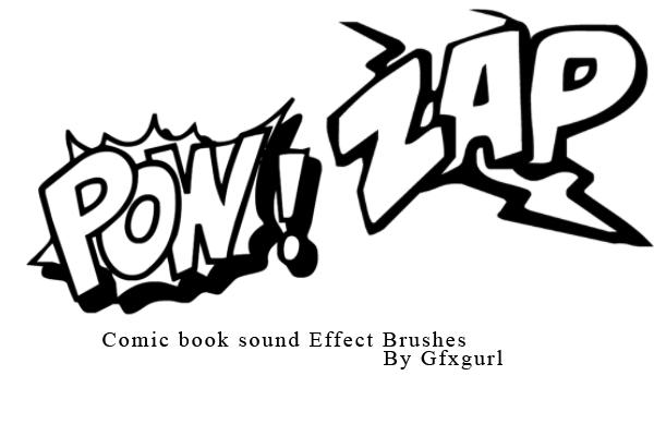 Noise effect brushes