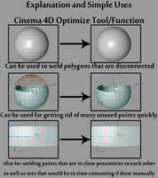 Cinema4D Optimize Function Tut by hmoob-phaj-ej