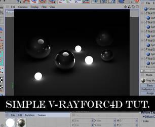 VrayforC4D simple tutorial. by hmoob-phaj-ej