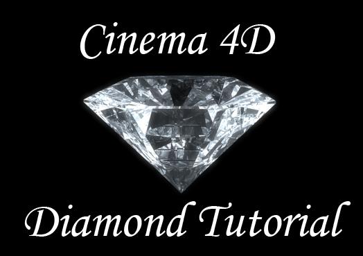 Cinema 4D Diamonds Tutorial
