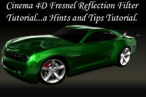C4D Fresnel Reflection Video by hmoob-phaj-ej