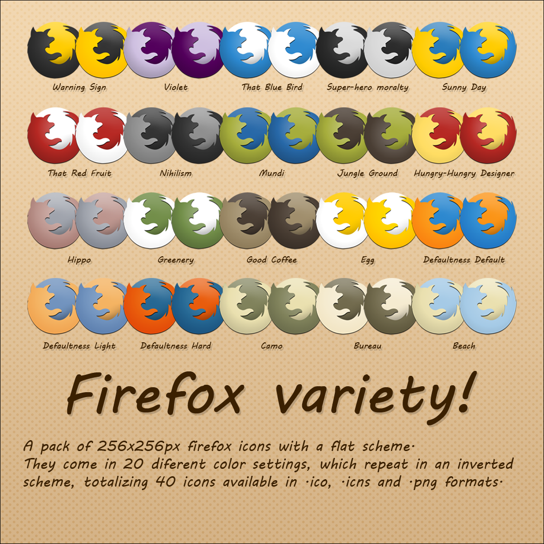 Variety - A firefox icon pack by Berstarke on DeviantArt