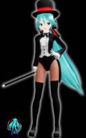 Lat Miku Magician + DL by XXSefa