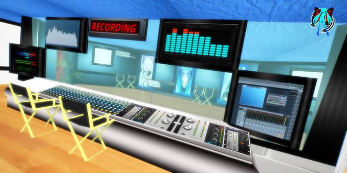 MMD Recording Studio Stage V2 + DL