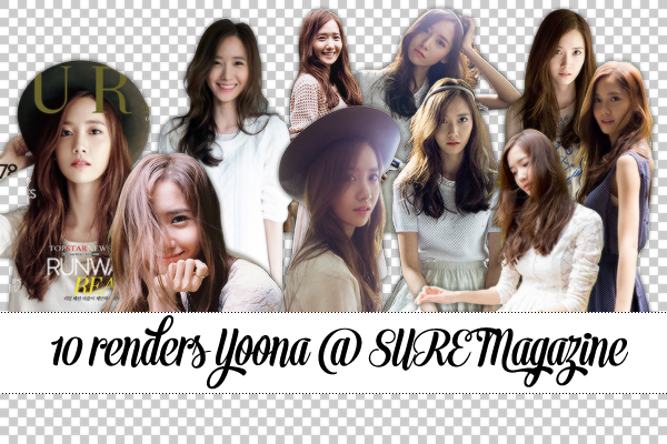 10 Render Yoona @ SURE Magazine by huyetniufire