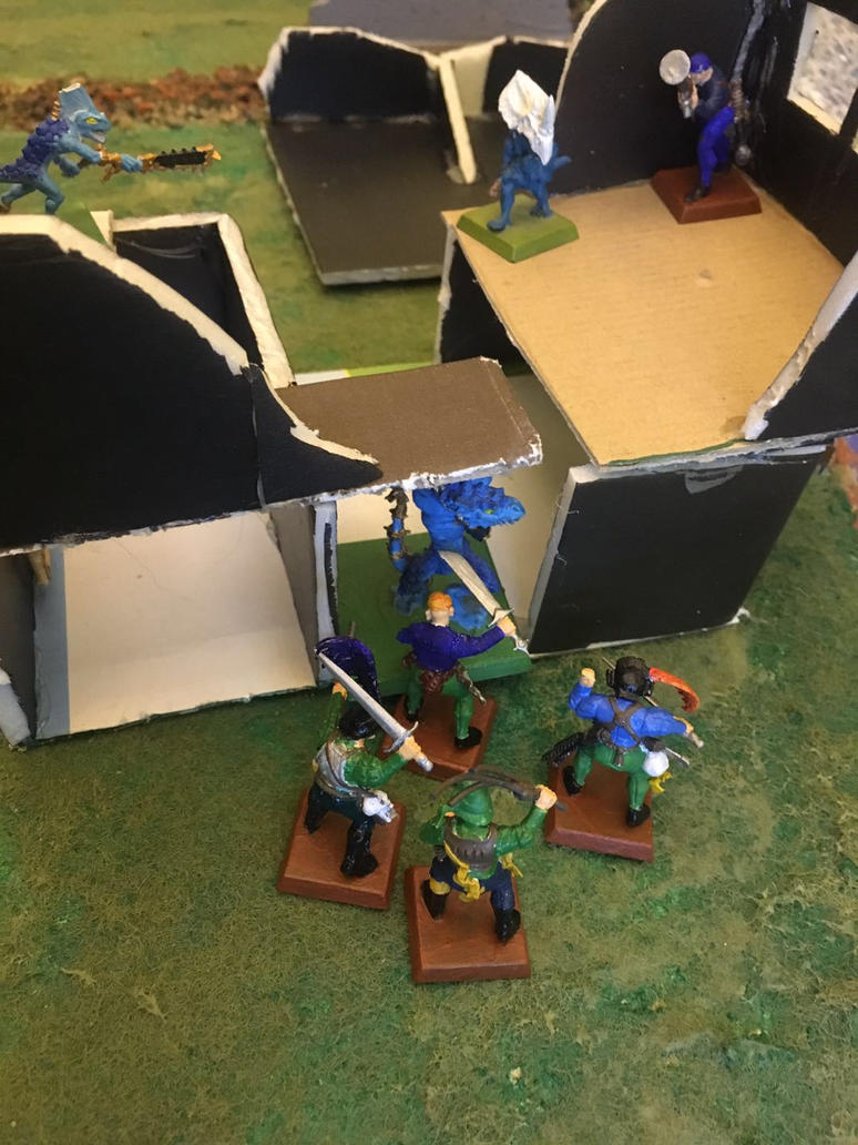 Battle Report Game 1: Treasure Hunt by Jburns272