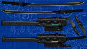 [MMD] High Frequency Blade Set for DL