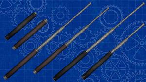 [MMD] Steel Baton pack for DL