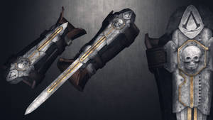 [MMD] AC4:Black Flag Hidden Blade for DL