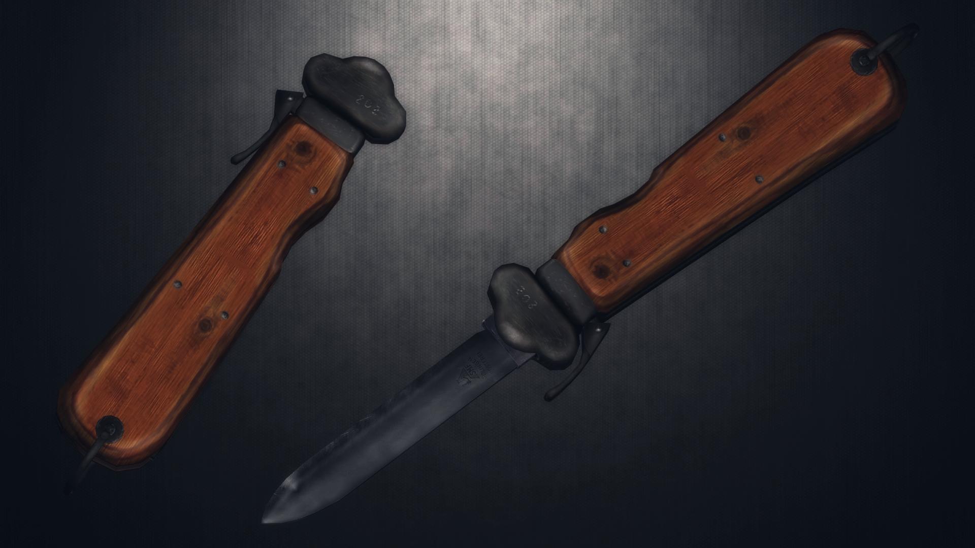 [MMD] Luftwaffe Fallschirmjager Messer For DL By AbyssLeo