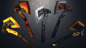 [MMD] A bunch of axes for DL by AbyssLeo