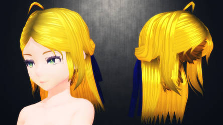 [MMD] Shiet...more hair for DL (don't D:) by AbyssLeo