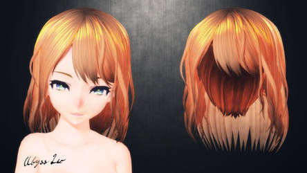 [MMD] Why is there still a hair for DL?? (idk...) by AbyssLeo