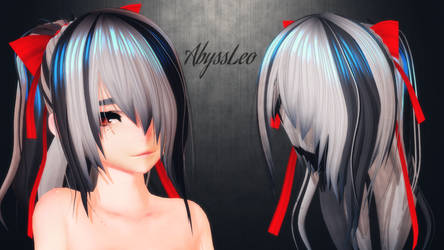 [MMD]When will he stop giving hair DL for free WTF