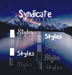 Syndicate -Styles
