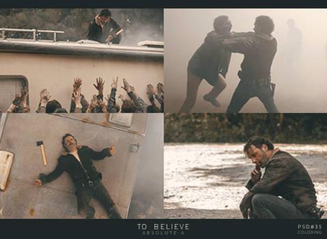 To Believe |PSD35|