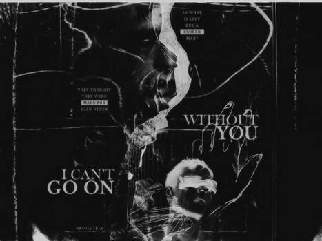 I can't go on without you |Blend|
