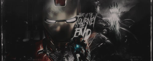 Part of the journey is the end |Signature|