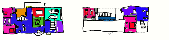 randomness(its a basic outline of a house) by preussensunflowers