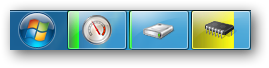 Meters on taskbar by cutechinu