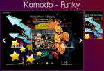 Winamp: Komodo - Funky by Cozmonort