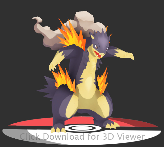 Typhlosion mega evolution