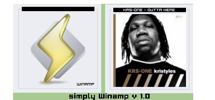 Simply Winamp by BoSZ