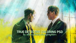True Detective coloring PSD