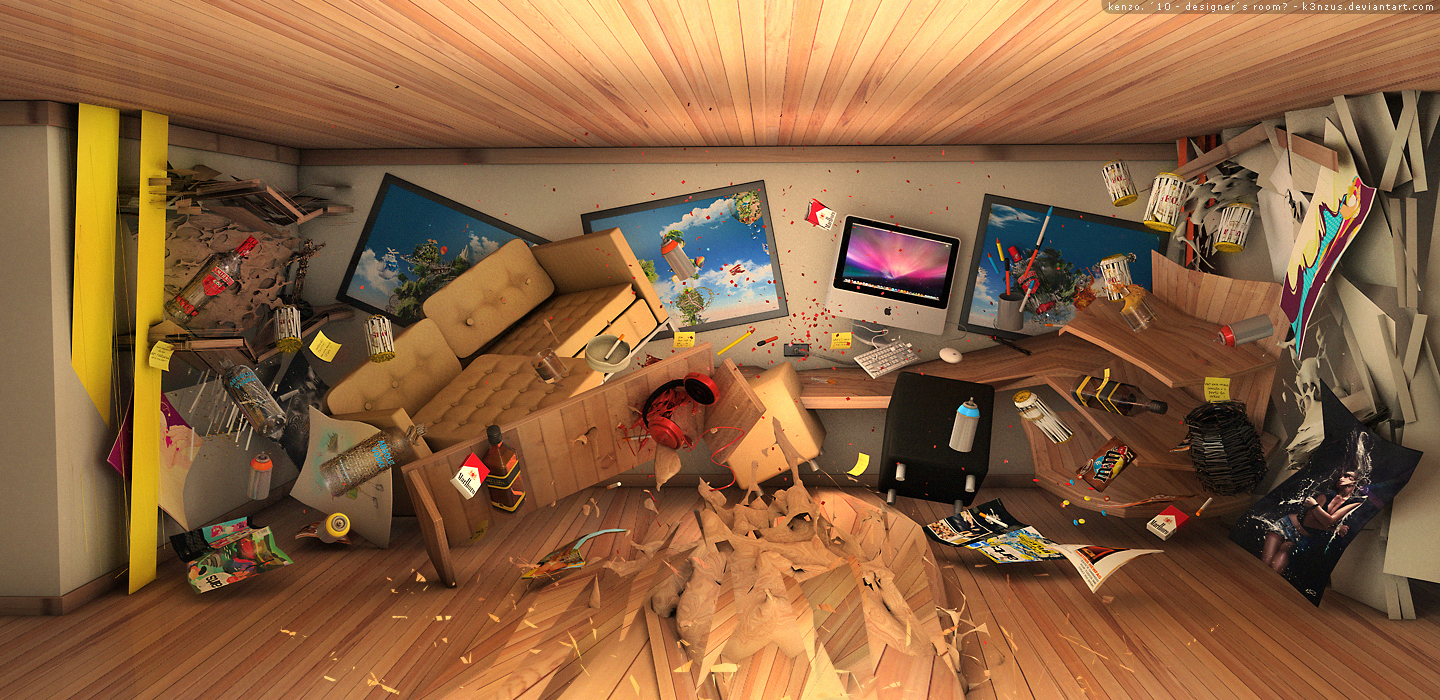 Designer 39 s room by k3nzus on deviantart 3d room maker